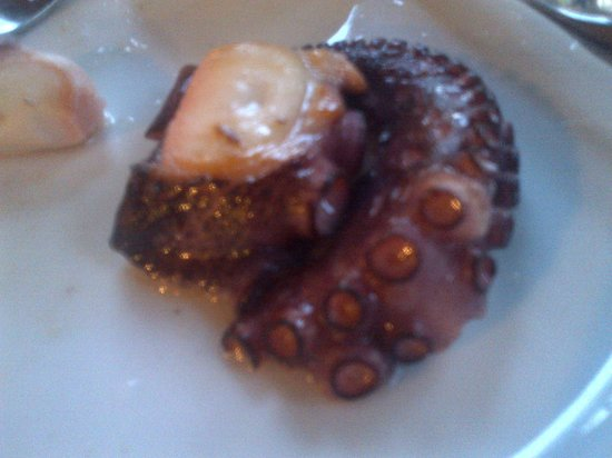 Fish Market: half portion of grilled octopus
