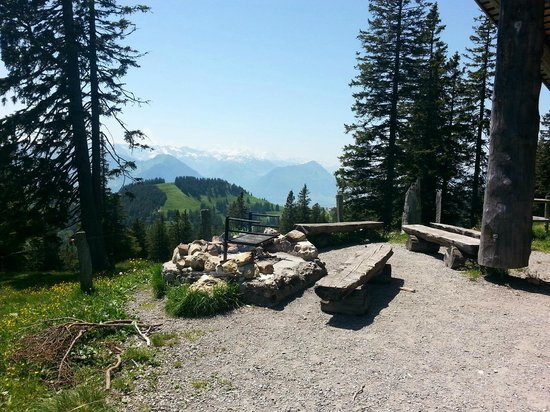 ECHO Trails: Our beautiful lunch spot