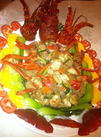 Greatwall Restaurant: lobster