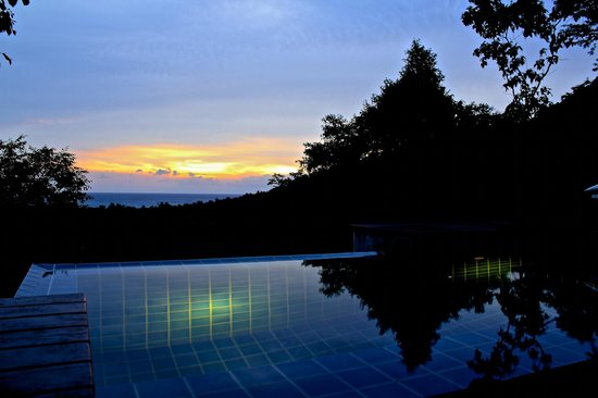The Place Luxury Boutique Villas: Lovely sunset views