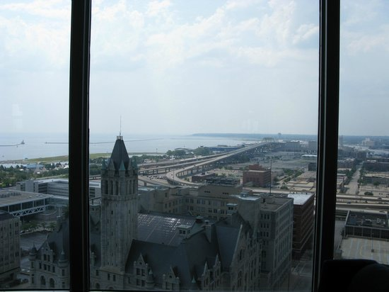 The Pfister Hotel: View From Blu 23rd Floor