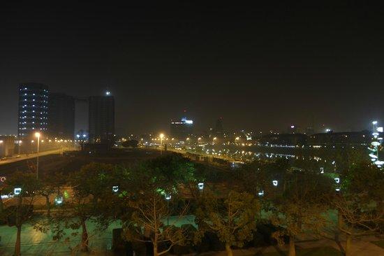 Paisagem vista da nossa janela no Hotel Madero