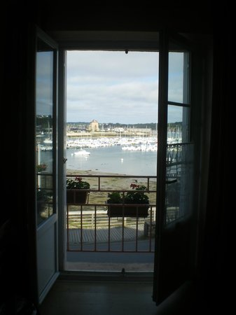 Hotel Le Styvel : View from room, 4