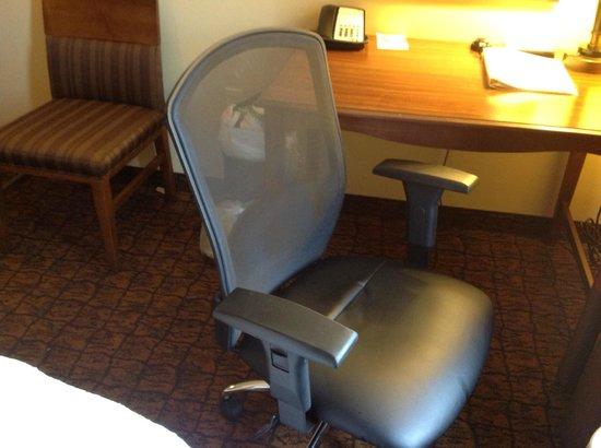 Hampton Inn & Suites McAllen: Una cómoda silla Herman-Miller para trabajar