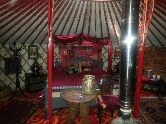 Sopley Lake Yurt Camp: Yurt
