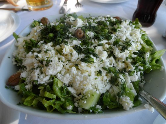 Stoupa Restaurant: Πράσινη Σαλάτα