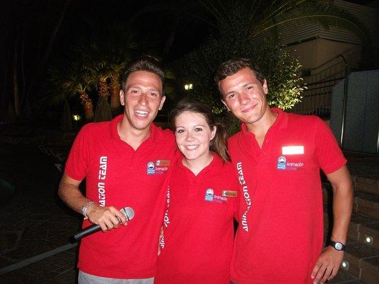 Invisa Hotel Ereso: A 1st class entertainment team!