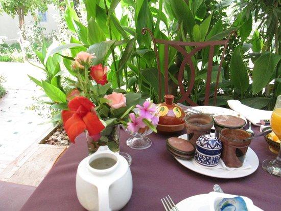 Hotel Dar Zitoune: petit déjeuner