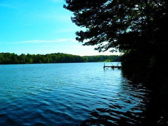 Hocking Hills State Park: lake logan 2013 june