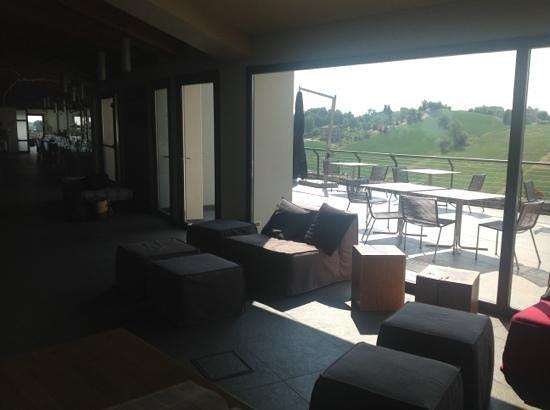 Opera02 Resort: lounge area in front of terrace
