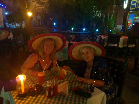 Mexican Restaurant: Mums birthday meal at the Mexican