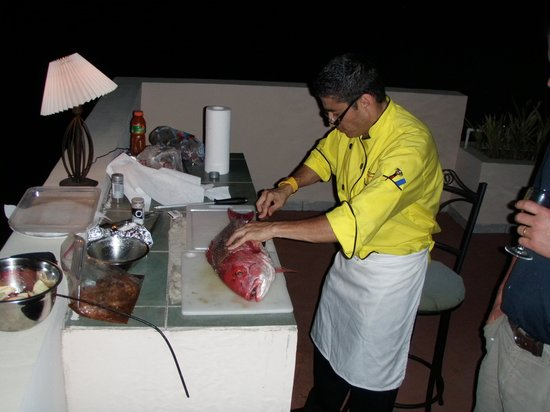 Costa Rica In Tours : One of our chefs-delicious food!!