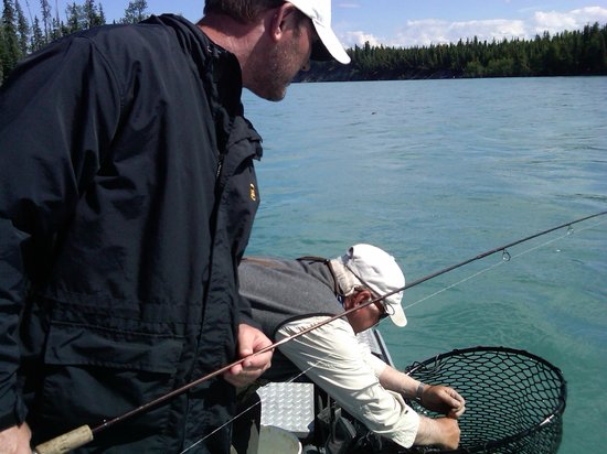 Alaska Fishing & Lodging: Trout fishing