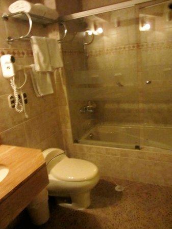 Hotel Hacienda Plaza de Armas: Bathroom
