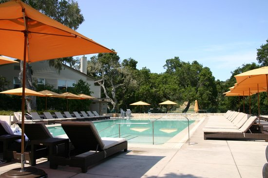 Carmel Valley Ranch: Adult pool area