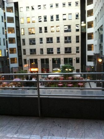 Arcadia Hotel Berlin: view from room 200