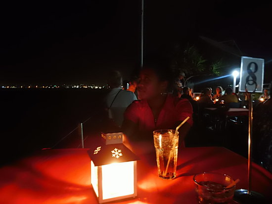 Apia Yacht club: Candlelit Dinner