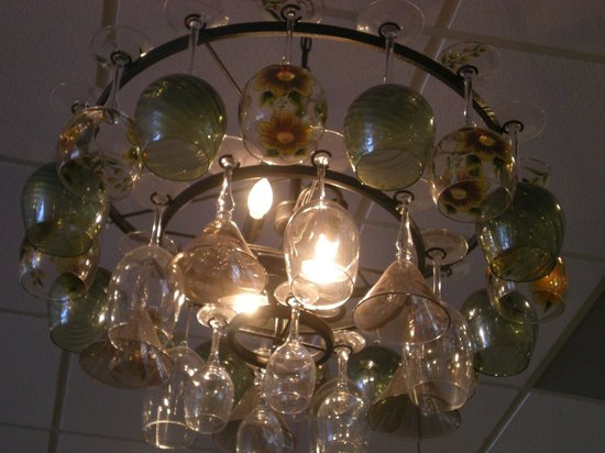 Our Daily Bread: Goblet chandelier