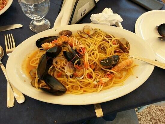 Antichi Mulini: spaghetti allo scoglio