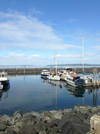 Blake Island State Park: Docks at Blake Island