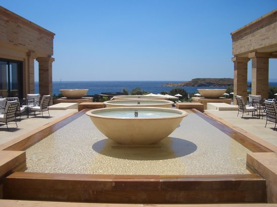 Cape Sounio, Grecotel Exclusive Resort : A detail of main building
