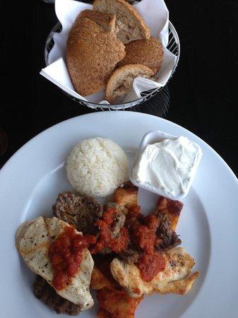 The Marmara Sisli: Turkish food at hotel cafe