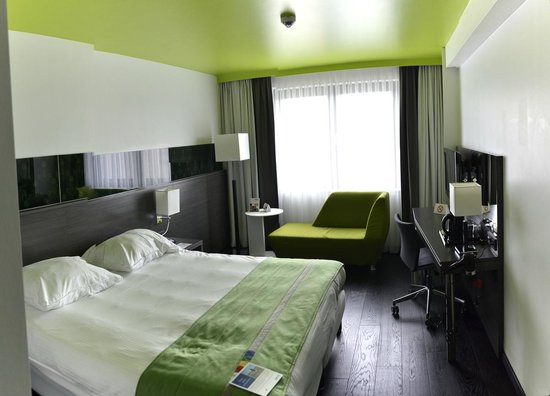 Park Inn by Radisson Luxembourg City: Room view (stitch of many photos)