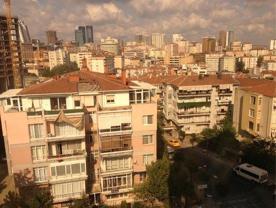 The Marmara Sisli: View from room 508