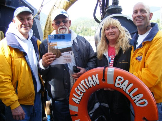 Black Bear Inn: Crab Boat Tour Ketchikan