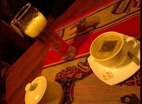 Creperie Patrick: chá quente + cerveja gelada