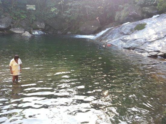 Cachoeira do Paraiso no Parque de Jureia-Itatins
