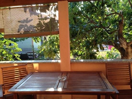 Apartments & Rooms Barbara: veranda esterna Daniela M