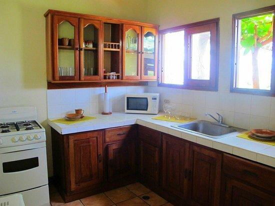 Villas Playa Maderas: Villa Palmera Kitchen