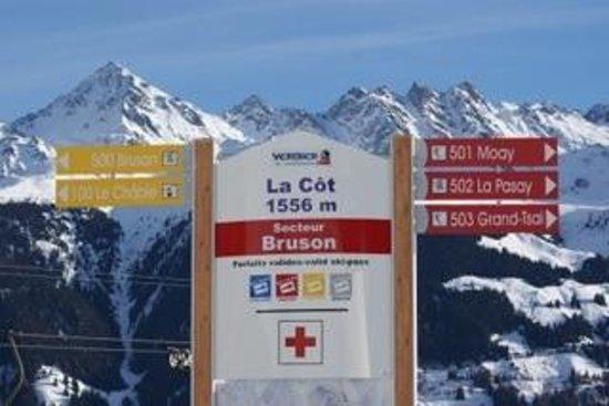 Bruson Ski Area : La Cot