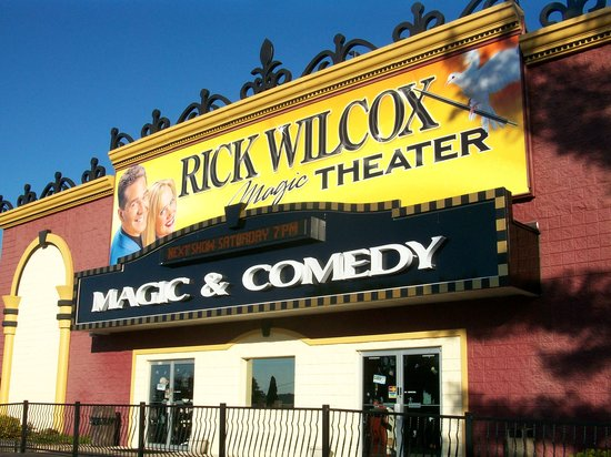 Rick Wilcox Magic Theater: Building shot