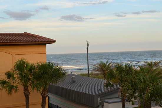 Best Western Oceanfront: view from Room 307