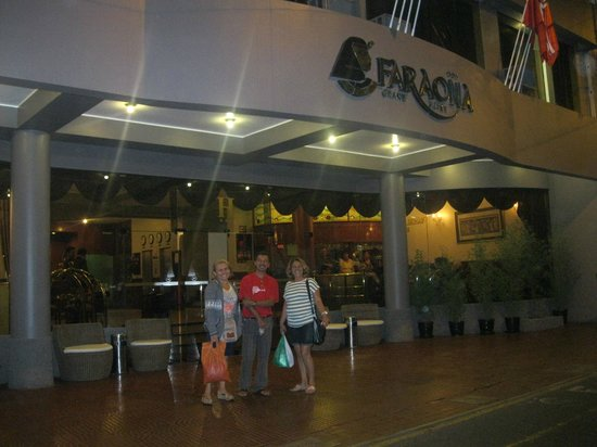FARAONA GRAND HOTEL EM LIMA