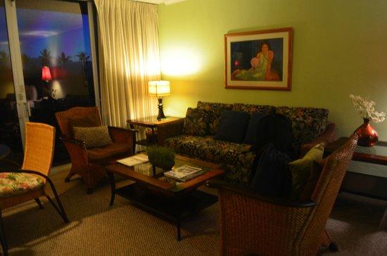 Aston Maui Kaanapali Villas: Living room area
