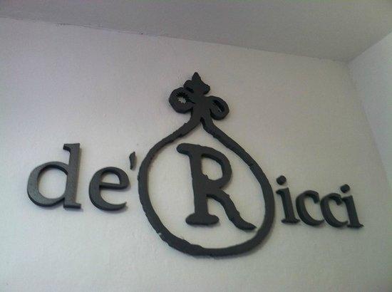 Cantina de' Ricci: De'Ricci