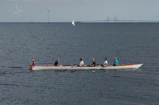 Øresundsbron : From the Copenhagen side