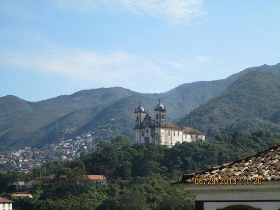 Pousada Do Mondego: vista da varanda externa