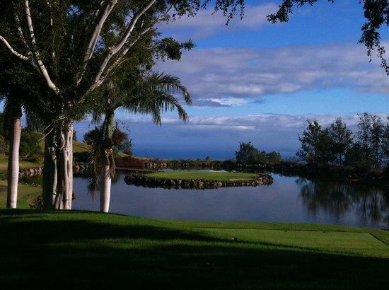 Big Island Country Club : Signature 17th hole.