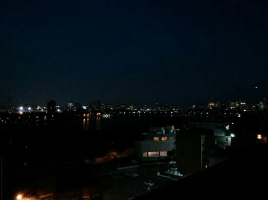 Boston University Observatory: a bad photo of the fabulous view