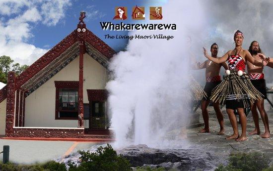 Maori Dorf: Whakarewarewa - The Living Maori Village