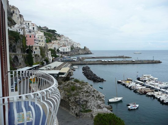 Hotel la Bussola: Looking at the Almafi Coast
