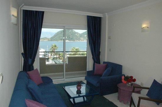 Doruk Hotel & Suites: deniz  manzarası