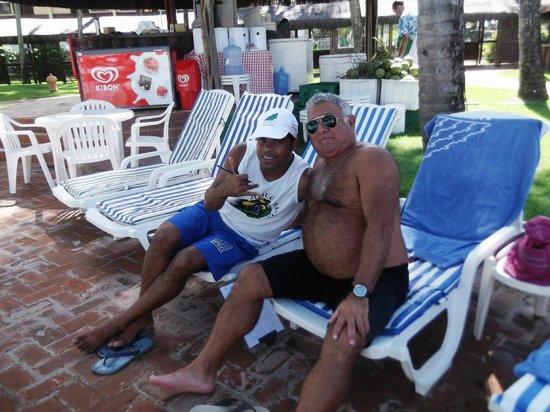Jatiuca Hotel & Resort: Marco y Alfredo