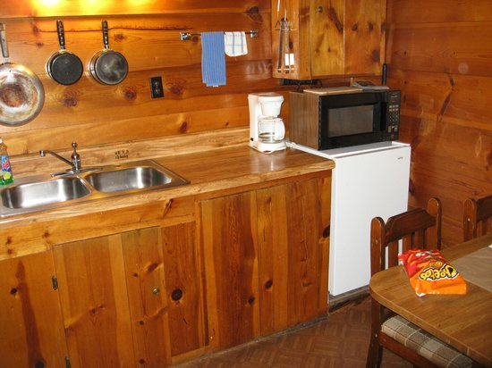 Kitchen  - Gilbert Cabins	Sleeps 4