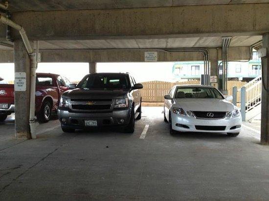 Sunchase : Parking garage