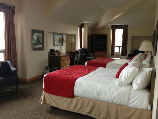 The Glacier View Inn: Our 2 person suite